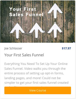 Your First Sales Funnel Coursee