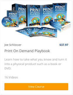 Print On Demand Course
