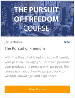 The Pursuit of Freedom Course - FREE