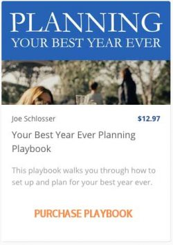 Planning Your Best Year Ever